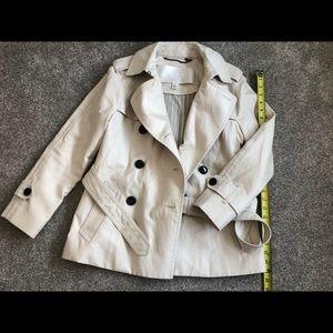 Coach short trench coat